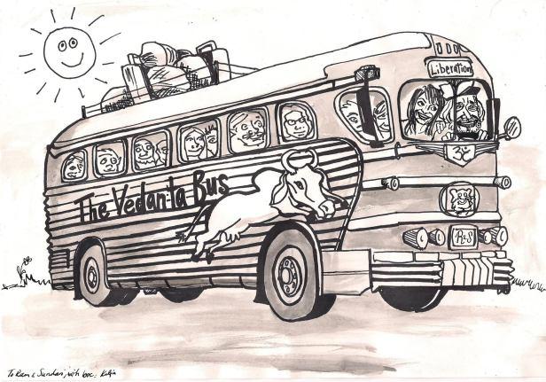 vedanta bus